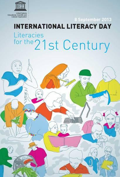 September 8, Literacy Day 2013