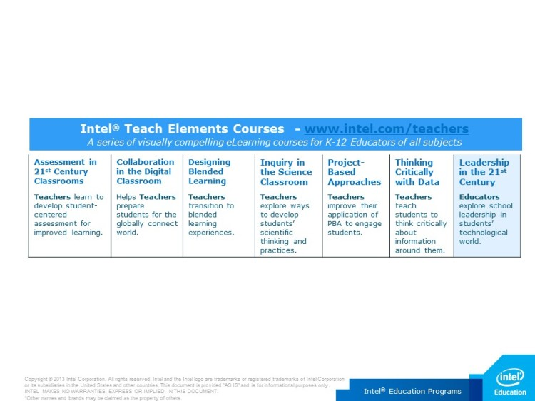 Intel Teach Elements (3)